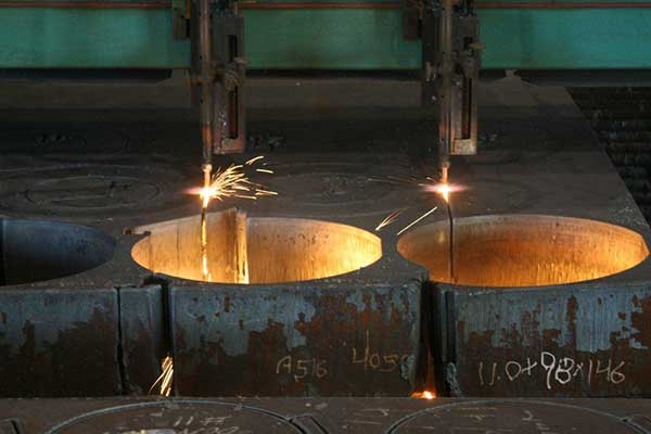 cnc plasma cut steel